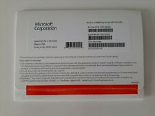 Microsoft Windows 10 Pro 64Bit OEM CD + Activation Sticker License - NEW SEALED