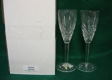 Waterford Araglin Champagne Flutes Set Of Two More Items Available Mint In Box