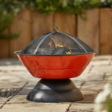 Fire Pit BBQ Log Burner - Tinaga: Next Day Delivery (Chiminea Garden Heater Wood