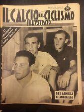 Il calcio e il ciclismo illustrato 1961 N° 31 con calendario campionato  23/6