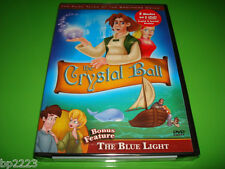 THE CRYSTAL BALL & THE BLUE LIGHT 2-Feature DVD, BROTHERS GRIMM FAIRY TALES-NEW