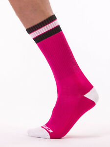 Barcode Berlin Fashion Socks Paris Pink 91445/3112 Sexy Sale Quick Delivery