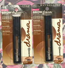 Maybelline Brow Drama Sculpting Brow Mascara #265 Auburn (2 Pack)