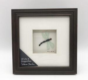"Demdaco Of Life & Dragonflies Wall Art Sharon Nowlan Collection 6x6"" NIB"