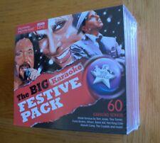 STTW  5 CD+G discs, 60 karaoke songs The Big Festive Karaoke, RRP £25.00 xmas