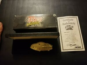 Jeff Gordon 1998 Championship Gold colored Handle Knife Action RCCA 1:64 NASCAR