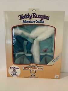 Vintage 80's Worlds of Wonder Teddy Ruxpin Adventure Winter Outfit  NEW IN BOX