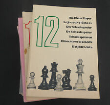 Vtg THE CHESS PLAYER Magazine lot 1971-1976 by Chess Digest Carlton Nottingham