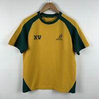 Wallabies Australian Rugby Shirt Size Medium Short Sleeve