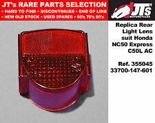 TAIL LIGHT LENS HONDA NX50