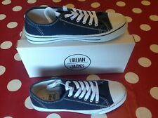 Canvas Trainers /Shoes Urban Jacks Plimsolls. Size UK 4 Worn twice