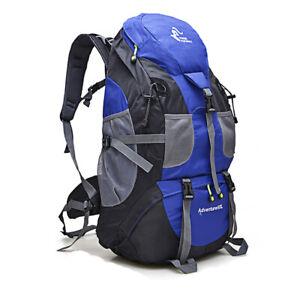 50L Camping Rucksäcke Wasserdichte Outdoor Spor50L Camping Rucksät Tasche Klette