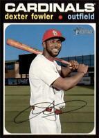 2020 Topps Heritage Base #88 Dexter Fowler - St. Louis Cardinals