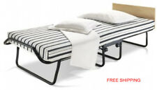 Jay-Be Venus Single Folding Guest Bed With Dual Density Airflow Mattress Bedroom