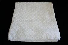 2 Hotel Collection Diamond Matalasse Euro Sham White $290 2pc
