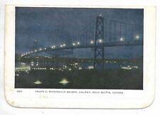 Folkard Card HALIFAX, NOVA SCOTIA CANADA Angus L. MacDonald Bridge