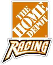 "The Home Depot Racing Nascar Car Bumper Window  Notebook Sticker Decal 4""X5"""