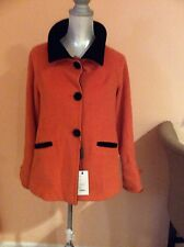 Bencivenga Couture Two-Toned Button-Up Coat Price$700. Sell $150
