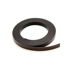 SELF ADHESIVE MAGNETIC TAPE/STRIP 5m x 12.7 mm WIDE AND STRONG