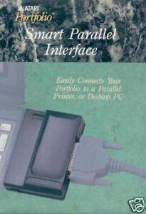 Atari Portfolio PARALLEL PRINTER INTERFACE & DFT NEW