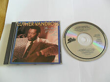 LUTHER VANDROSS - The Night I Fell in Love (CD 1985) JAPAN Pressing / No Barcode