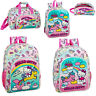 Hello Kitty Backpack Candy Unicorn Back to School Bag Rucksack Travel Gym Bag