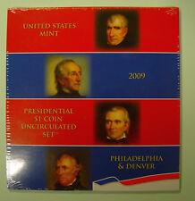 USA Presidential 1$ Coin uncirculated Set 2009 / Präsidentendollar P und D 2009