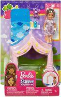 Barbie Skipper Babysitters Avec Coucher Mini Ensemble de Jeu - Poupée Tente &