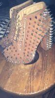 Vintage Spike Chunky Heels  Womens 8 Never worn!