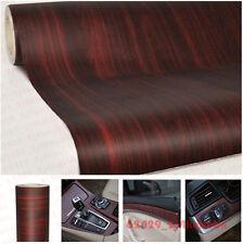 "12""x48"" 1ft x 4ft  Autos Car Wood Textured Grain Decorative Sticker Vinyl Decal"