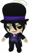 "*NEW* Black Butler: Book of Circus Sebastian Michaelis 8"" Plush by GE Animation"