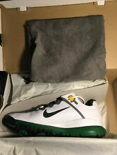 *NEW* NIKE Tiger Woods TW 13 Golf Shoes Masters Green Edition - Size 10 -  MINT
