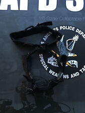Dragón en Dreams hizo Lapd Swat Negro Operaciones Especiales Arnés Suelto Escala 1/6th