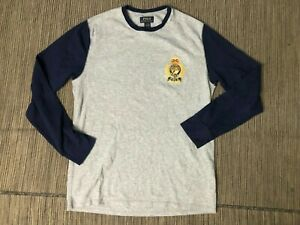 Polo Ralph Lauren Adult Mens Large Sleepwear Thermal Shirt Polo Crest