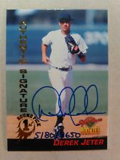 1994 SIGNATURE SERIES Derek JETER ROOKIE Authentic Autograph /8650 RC Yankees