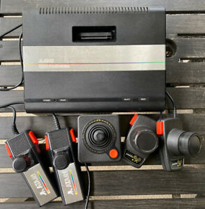 Atari 7800 Pro System No Cords Video Game Console With Paddles and Joystick
