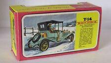 Repro Box Matchbox MOY Nr.14 1911 Maxwell Roadster Blisterbox
