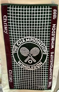 Vintage 1999 WIMBLEDON TOWEL Collectable