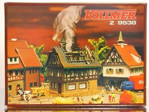 Vollmer Z 9538 (Comparable to Vollmer 49538) Brennendes House on Fire kit NIB