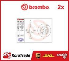 2x 08795511 BREMBO OE QUALITY BRAKE DISC SET