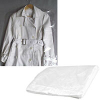 10pcs Clothes Suit Garment Dustproof Cover Transparent Plastic Storage Bag
