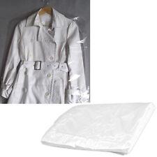 10pcs Clothes Suit Garment Dustproof Cover Transparent Plastic Storage Bag