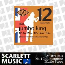 Rotosound Jumbo King Phospher Bronze Acoustic Guitar Strings 12-54 *BRAND NEW*