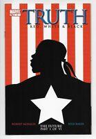 TRUTH RED WHITE BLACK #1 1st App ISAIAH BRADLEY VF/NM