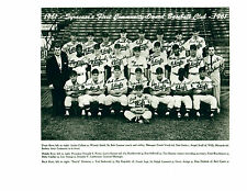 1961 Syracuse Chiefs 8x10 Team Photo Baseball New York Combined Shipping!
