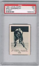 1952 Laval Dairy Subset Hockey Card Shawinigan Falls B. Giesebrecht Graded PSA 5