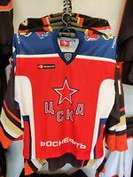 RADULOV #47- CSKA KHL HOCKEY JERSEY LUTCH