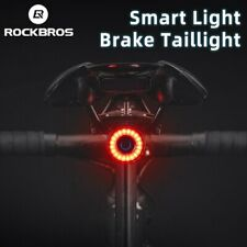RockBros Bicycle MTB Road Night Cycling Intelligent Brake Sensor Tail Light
