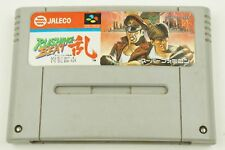 Rushing Beat Run SNES Jaleco Nintendo Super Famicom From Japan