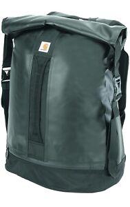 Carhartt Elements Duffel Bag Army Rucksack Schwarz Seesack PVC  NP99€ Dickies